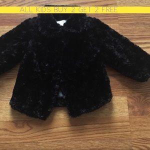Other - Black Fur coat EUC